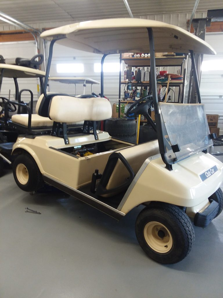 2006 Club Car DS-Cream