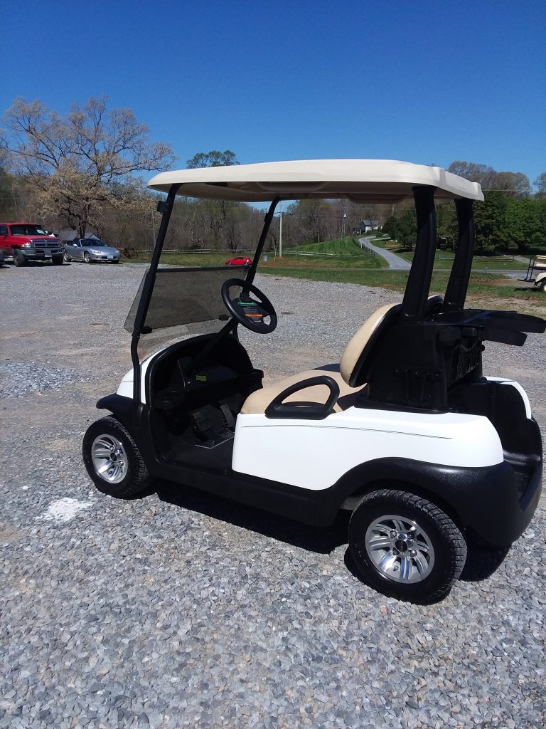 2016 Club Car Precedent-White