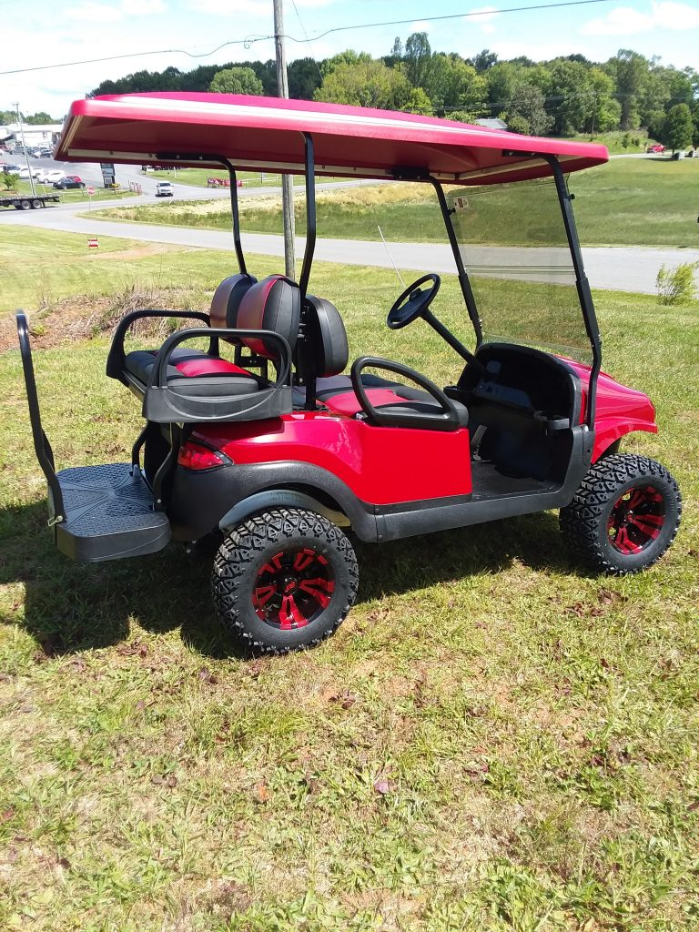 2016 Club Car Custom Phantom Body-Ruby