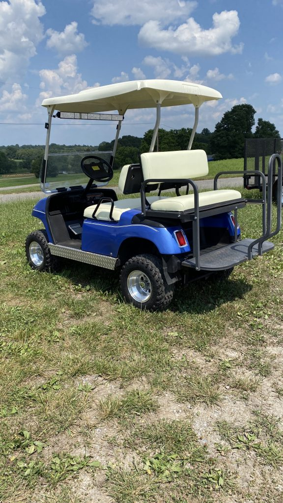 2000 Yamaha Cart-Blue