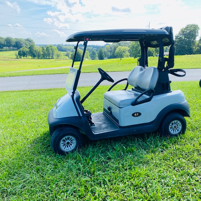 2017 Club Car Precedent-Grey