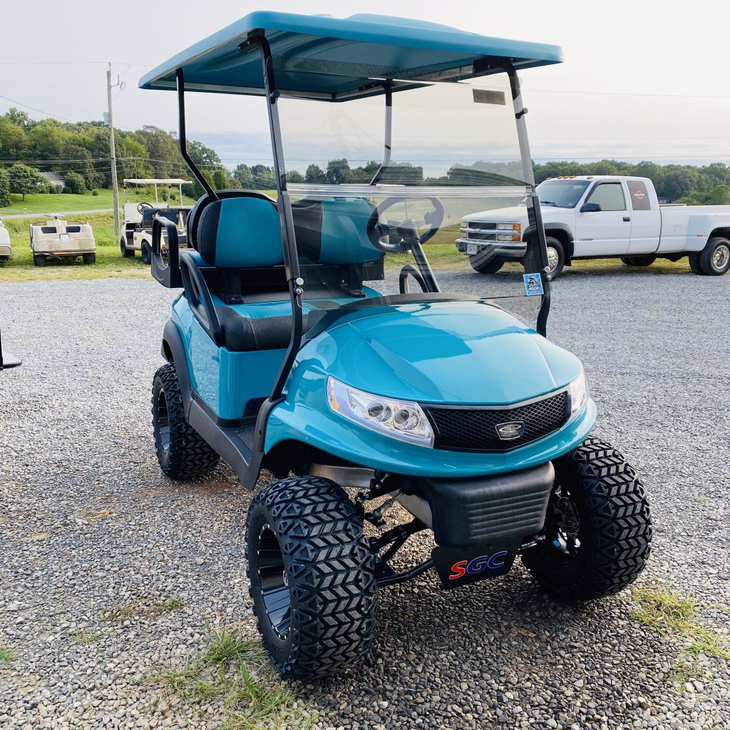 2017 Club car precedent-Teal Phoenix Body