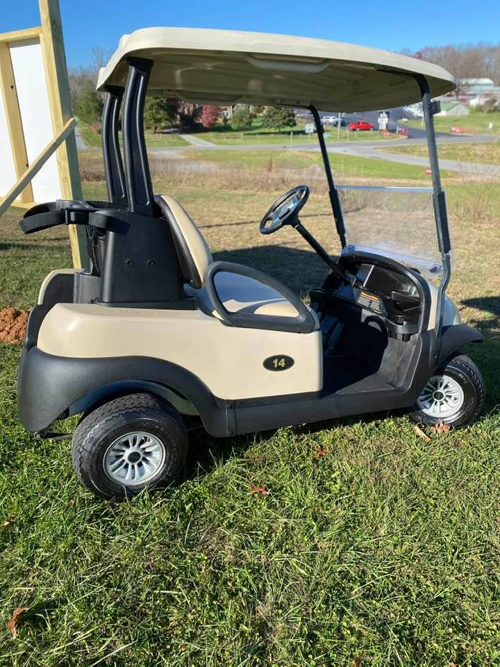 2007 Club Car Precedent – Tan