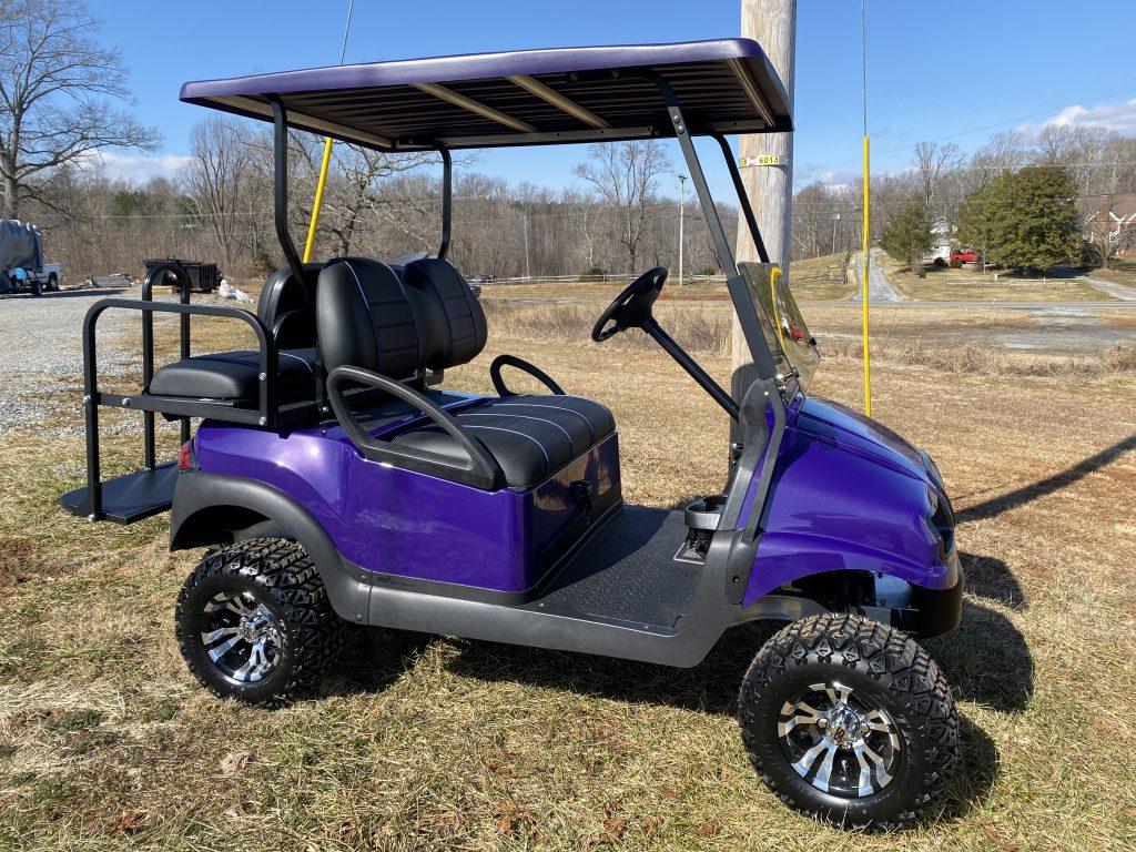 2017 Club Car Precedent- Purple Phantom body