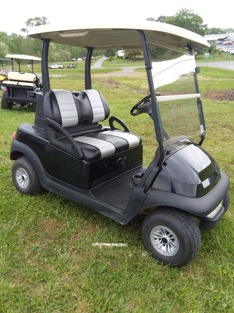 2006 Club Car Precedent-Black and Grey