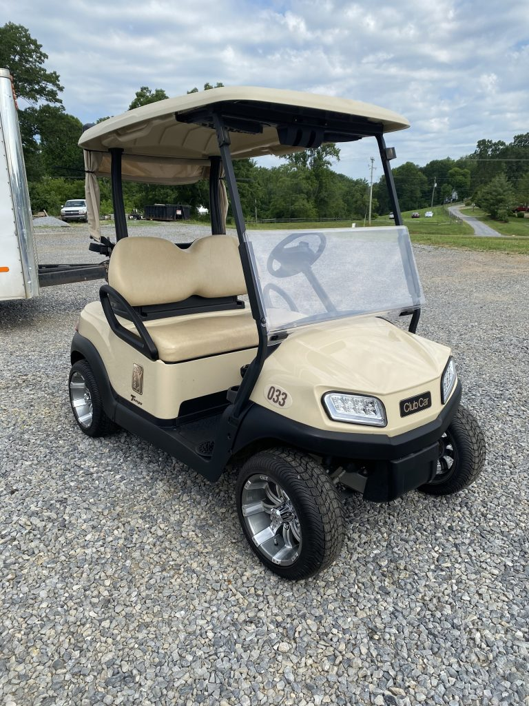 2018 Club Car Tempo-Tan