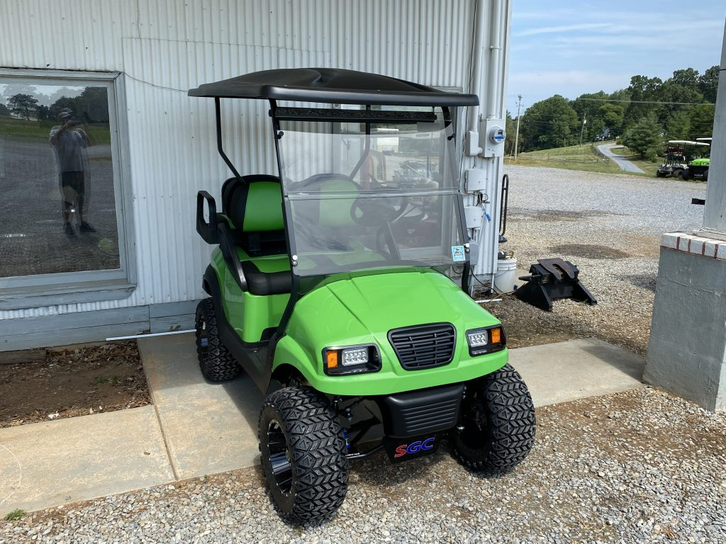 Lime Green/Black Custom build Club car Phantom body