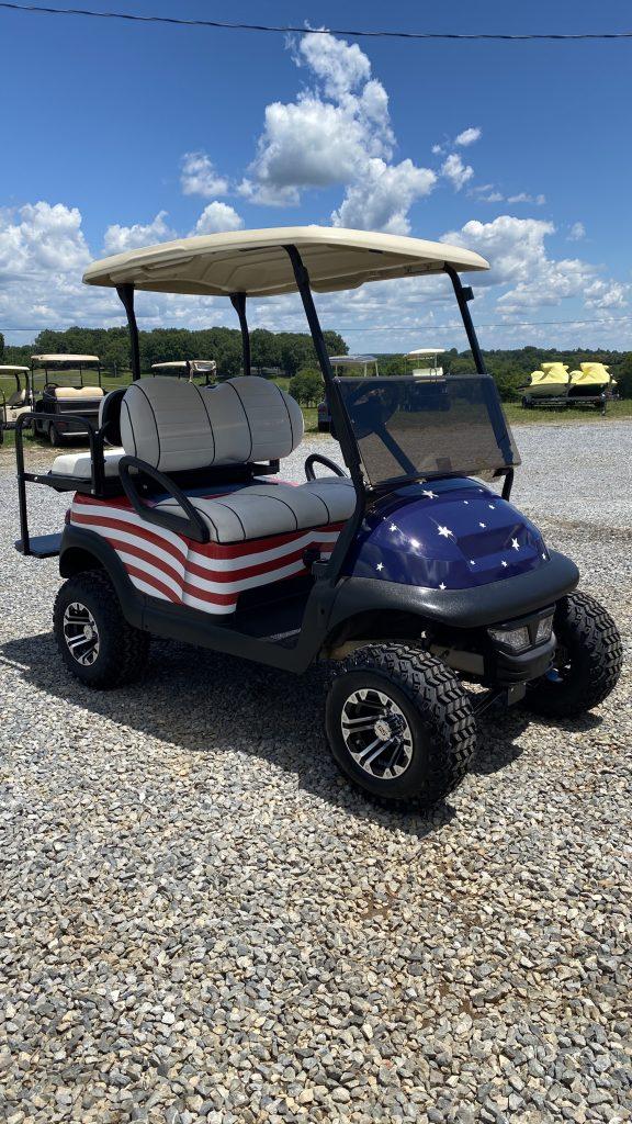 2014 Club car Precedent-American Flag